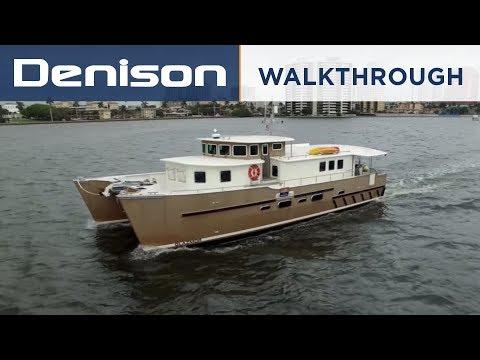 GLAZMOR: 58' Expedition Catamaran [Walkthrough]