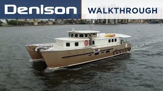 GLAZMOR: 58' Expedition Catamaran [Walkthrough]