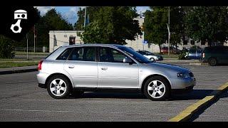 Audi A3 1.8i 8L Тест-драйв; zhmuraTV
