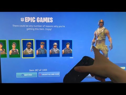 ALL PLAYERS CAN NOW GET FREE SKINS IN FORTNITE! (1833 ITEMS) Landon's Friend *JENSENSNOW* Glitch