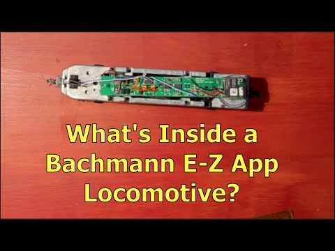 A Look At The Control Board Of A Bachmann E-Z App Locomotive