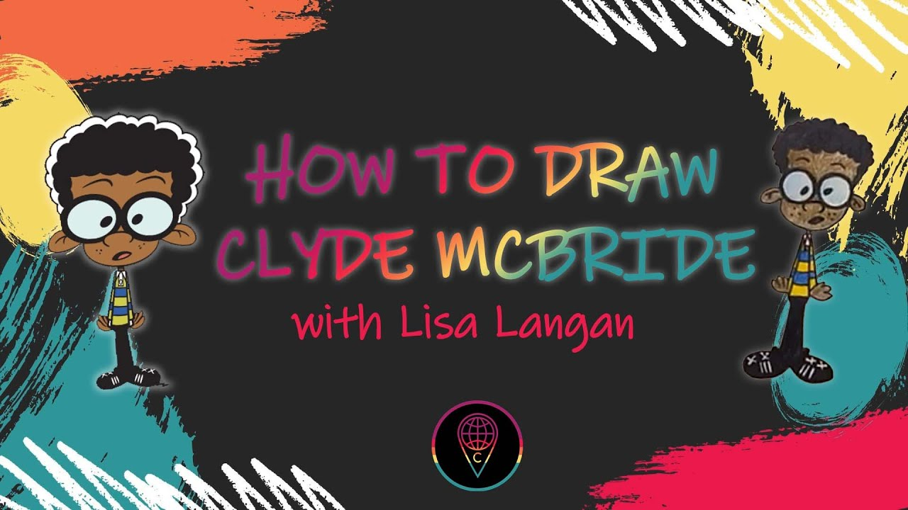 Lisa's Guided Drawing: How to draw Clyde McBride from 'The Loud House'