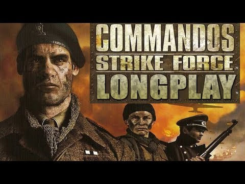 PS2 Longplay [018] Commandos Strike Force - Full Game Walkthrough