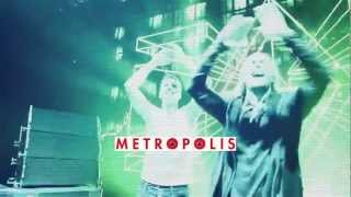 David Guetta & Nicky Romero - Metropolis video teaser