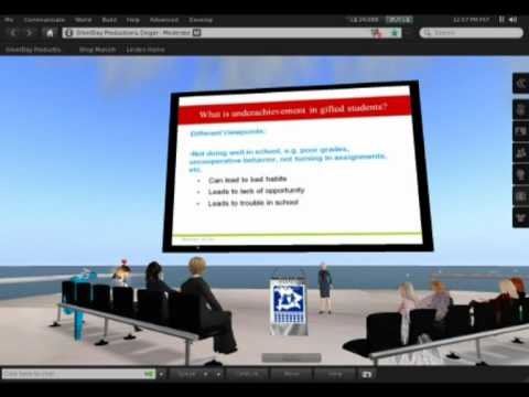 The 4th Global Virtual Meeting in Gifted Education in Secondlife, 2011-01-30.mpg
