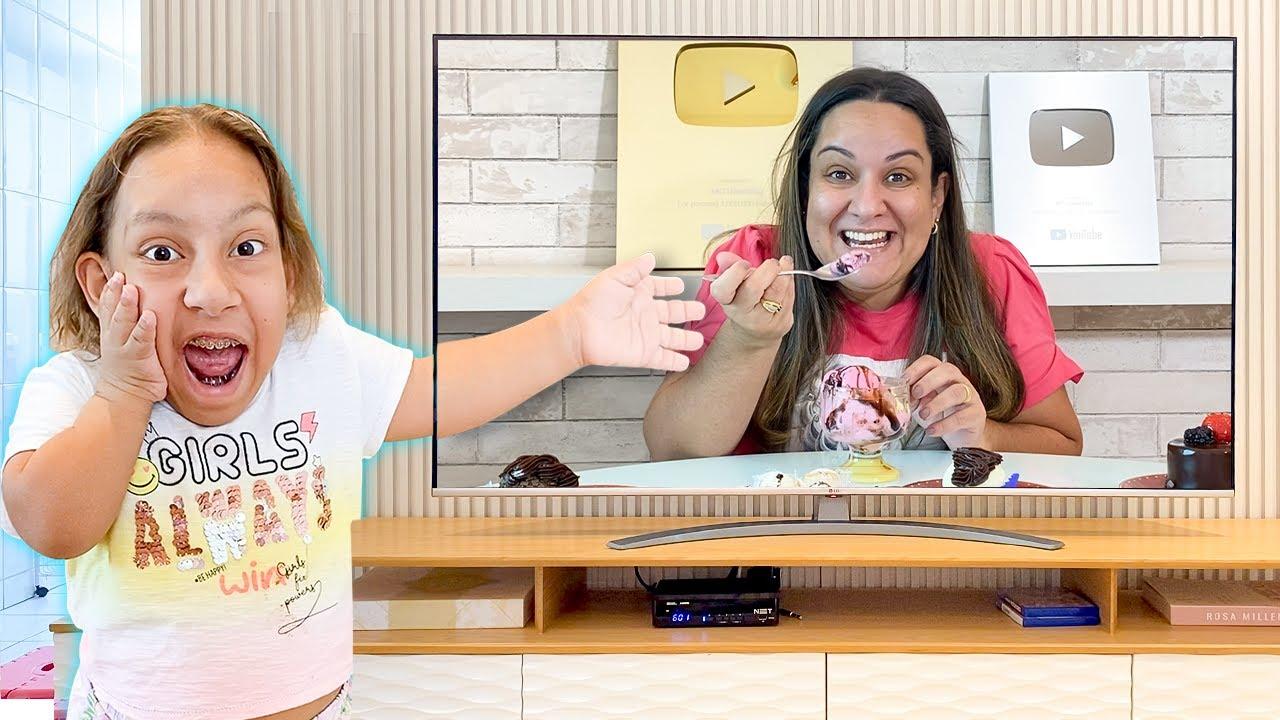 Maria Clara entrou na TV | Funny Story for Kids - MC Divertida