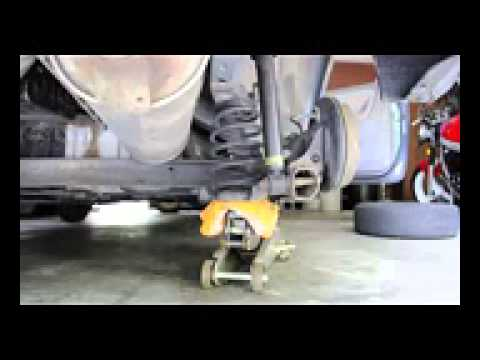 How To Replace Toyota Echo Rear Struts Youtube