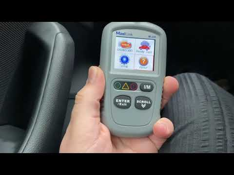 Autel MaxiLink ML329 Code Reader With One-Click I/M Readiness OBD2 Scanner Unboxing And Instructions
