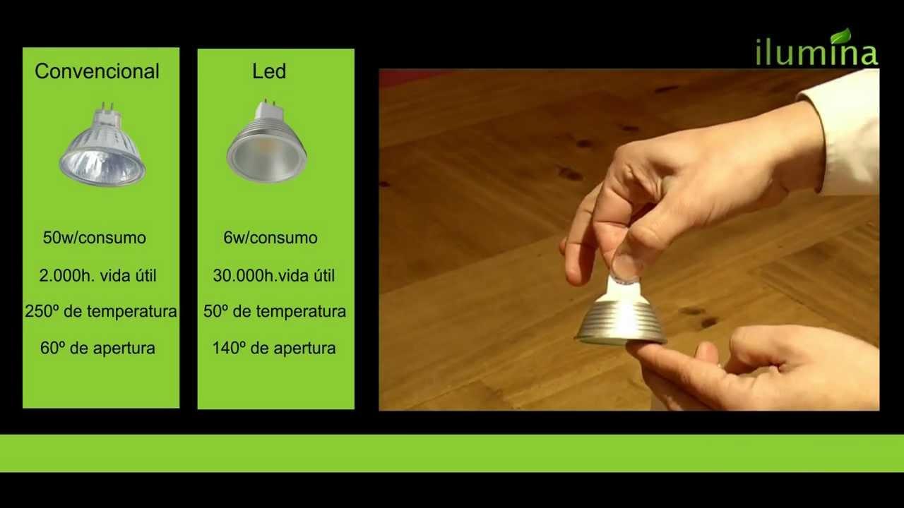 C mo instalar dicroicas halogenos led de alto - Luces dicroicas led ...