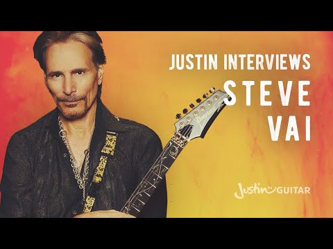Steve Vai Interviewed by Justin Sandercoe (Guitar Lesson MA-005) How to play