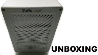 StarTech Thunderbolt 2 Quad Bay Hard Drive RAID Enclosure Unboxing