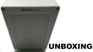 StarTech Thunderbolt 2 Quad Bay Hard Drive RAID Enclosure Unboxing