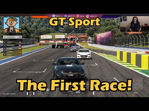 The First Race! - Gran Turismo Sport Live #1