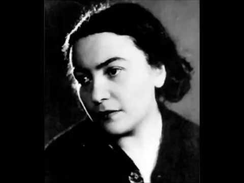 Maria Grinberg  plays Schubert Fantasie D.940  (two hands version)