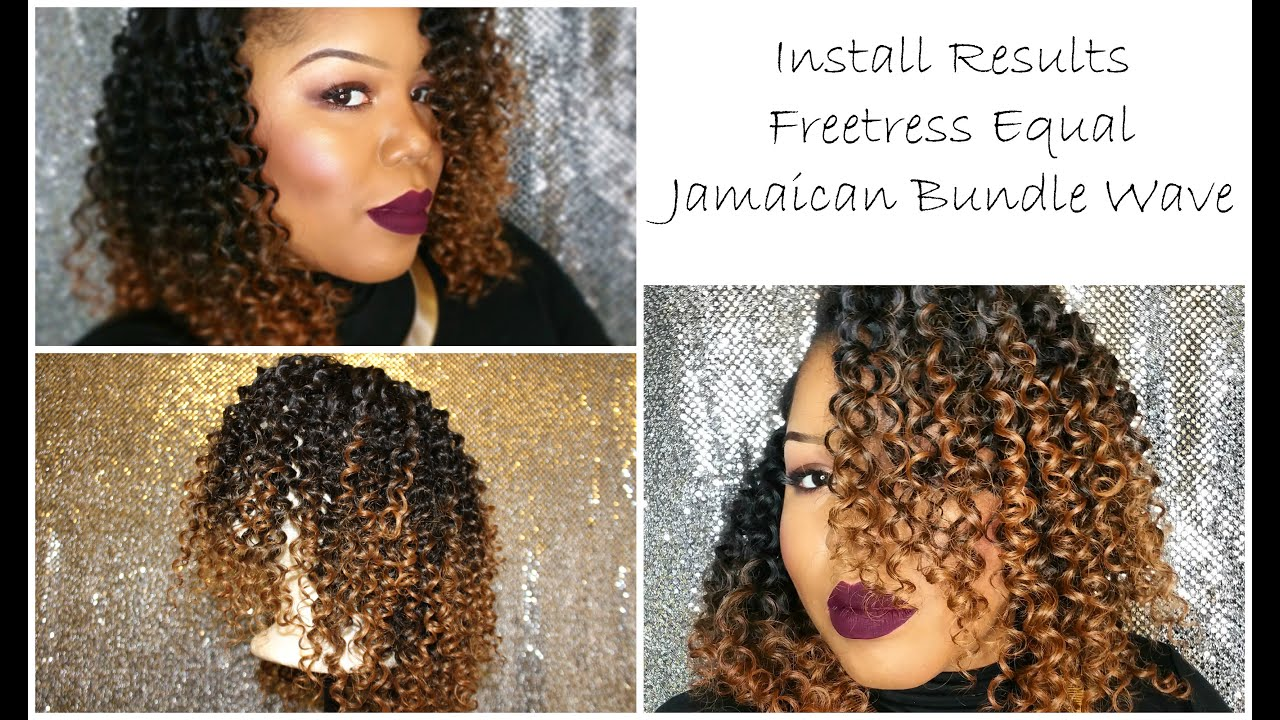 Install Results Freetress Equal Jamaican Bundle Wave You