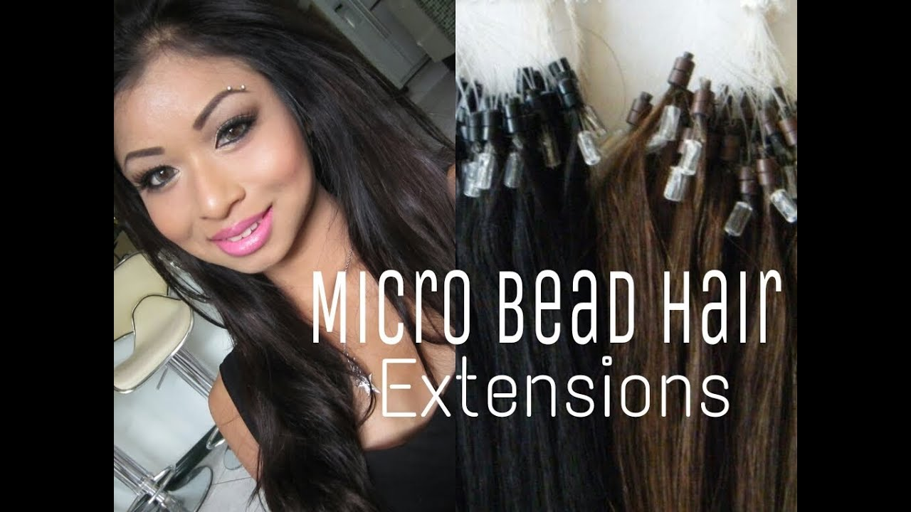 Ebay Micro Bead Remy Hair Extensions Youtube