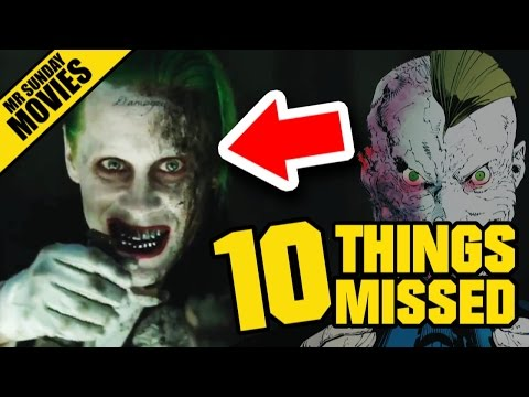 SUICIDE SQUAD Blitz Trailer - Easter Eggs, References & Things Missed (& Red Arrows)