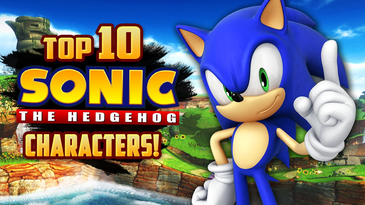 Top 10 Sonic The Hedgehog Characters Decadent Gamer Youtube