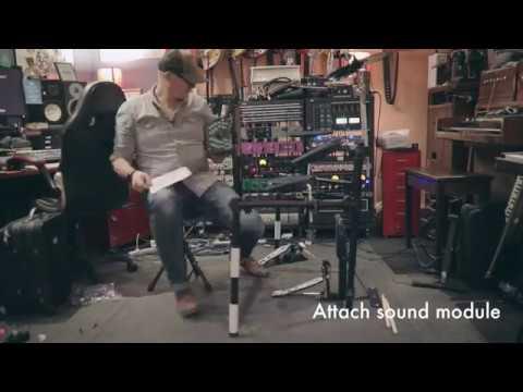 Artist EDK260 8 Piece Electronic Drum Kit...
