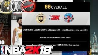NBA 2k19 MyCAREER - 99 OVR! All Level Reward Unlocks! New Hoverboards, BMX BIKES, MASCOTS!