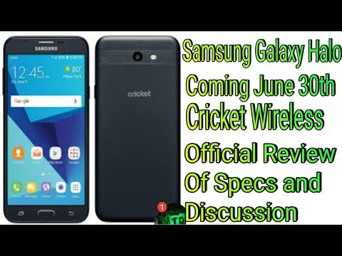 Samsung Galaxy Halo Coming June 30th Cricket Wireless Review Of Specs And Discussion