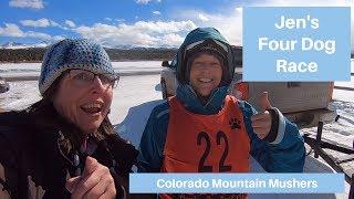 Jennifer W Sled Dog Team | Colorado Mountain Mushers | Mt Massive