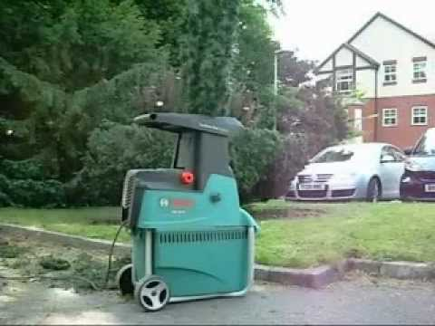 bosch axt 25 tc garden shredder youtube. Black Bedroom Furniture Sets. Home Design Ideas
