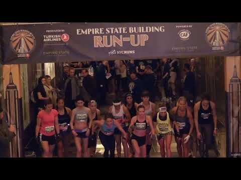 2018 Empire State Building Run Up from RUNNING Broadcast Series