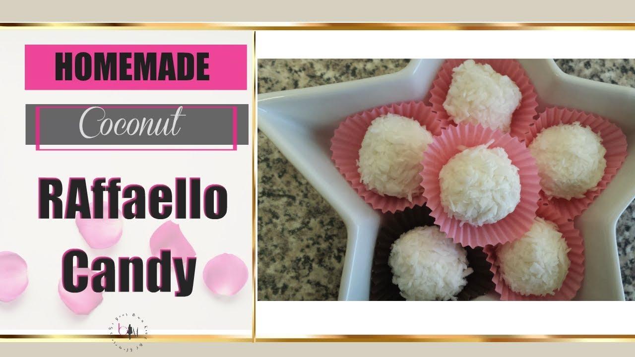 Coconut Raffaello Candy - Coconut Candy Recipe only 56 cal each ...
