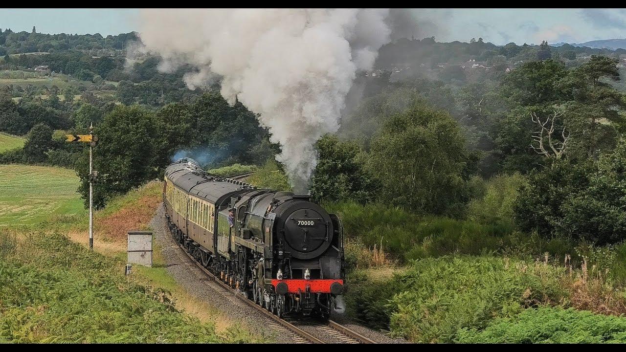 70000 'Britannia' Back In Business ! Loaded Test Runs - Severn Valley  Railway 2018