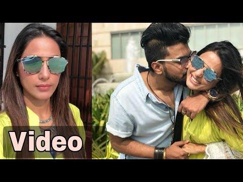 Hina Khan Celebrates Valentines Day In Sri Lanka With Rocky Jaiswal l Couple goals l Suhana Media P