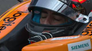 Fernando Alonso at Indianapolis Indy500, first laps | McLaren Honda