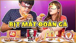 THỬ THÁCH GÀ RÁN LOTTERIA - KFC - MC DONALD'S - POPEYES | Fried chicken challenge