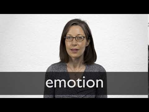 Emotion definition and meaning | Collins English Dictionary