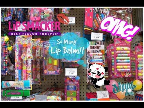 Lip Balm Shopping At Toys R Us -2016