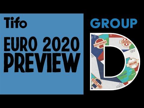 Group D - England, Croatia, Scotland, Czech Republic - UEFA Euro 2020 Preview