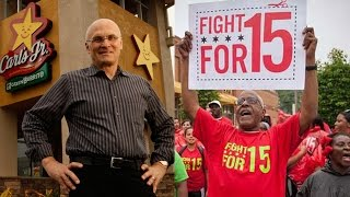 Trump's Labor Pick, Fast-Food CEO Andrew Puzder, Opposes Minimum Wage Increase & Paid Sick Leave