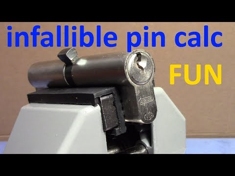 Взлом отмычками ABUS   (picking 442) FUN: WCP Mul-T lock challenge - ABUS picking (anti-)clockwise - mad science (Here is my final attempt to predict the number of