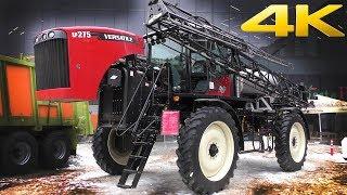 Опрыскиватель Versatile SP 275 - высокопроизводительная машина для серьезных задач. Обзор 2018