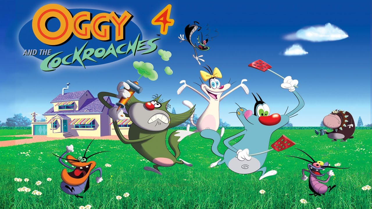 Oggy and the Cockroaches  Opening Credits  Season 4 HD  YouTube