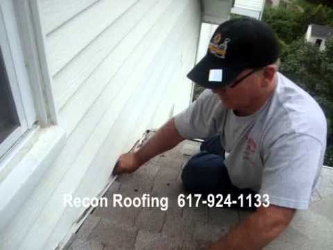 Recon Roofing Repairs Roof in Brookline, Massachusetts