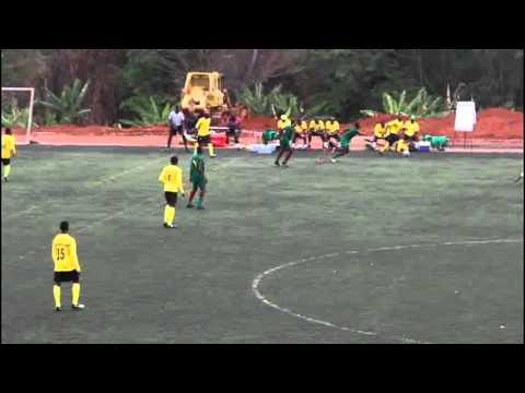 CAMEROON JUNIOR NATIONAL TEAM    VS        F. FRANK FOOTBALL ACADEMY