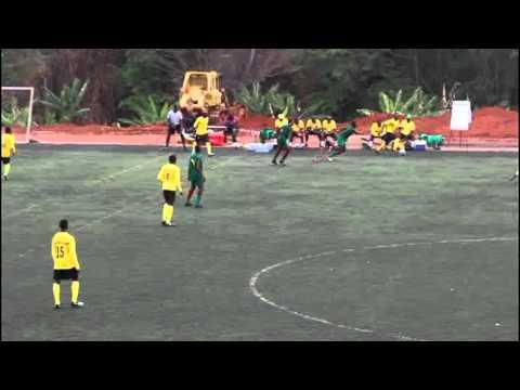 CAMEROON JUNIOR NATIONAL TEAM    VS        F. FRANK FOOTBALL ACADEMY