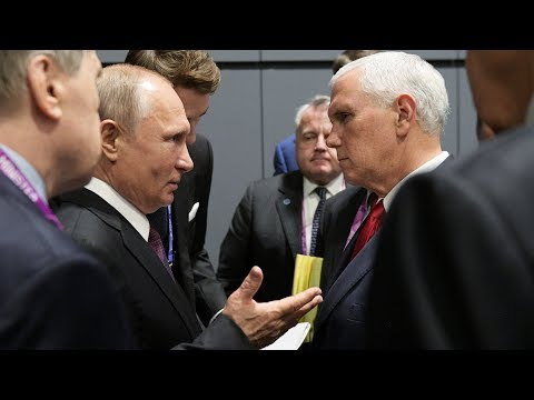 Путин и Пенс: