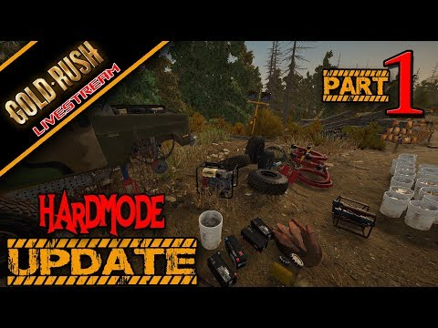 Gold Rush The Game Hardmode New Save 142 Update Livestream