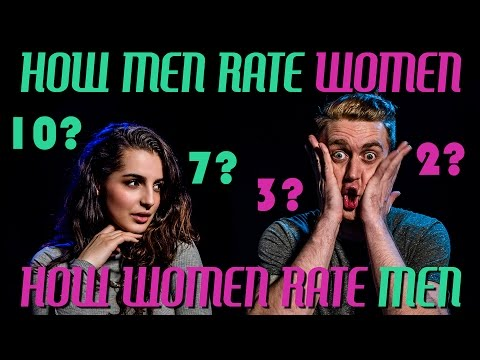 HOW MEN RATE WOMEN || HOW WOMEN RATE MEN