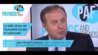 PAF – Patrice and Friends – avec Jean-Michel Fourgous – Emission du mardi 29 novembre 2016