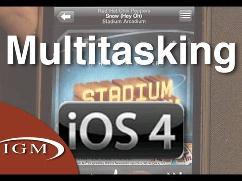 iOS 4 Features: Multitasking (Review)