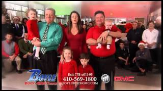 Happy Holidays from Boyle Buick GMC 2015