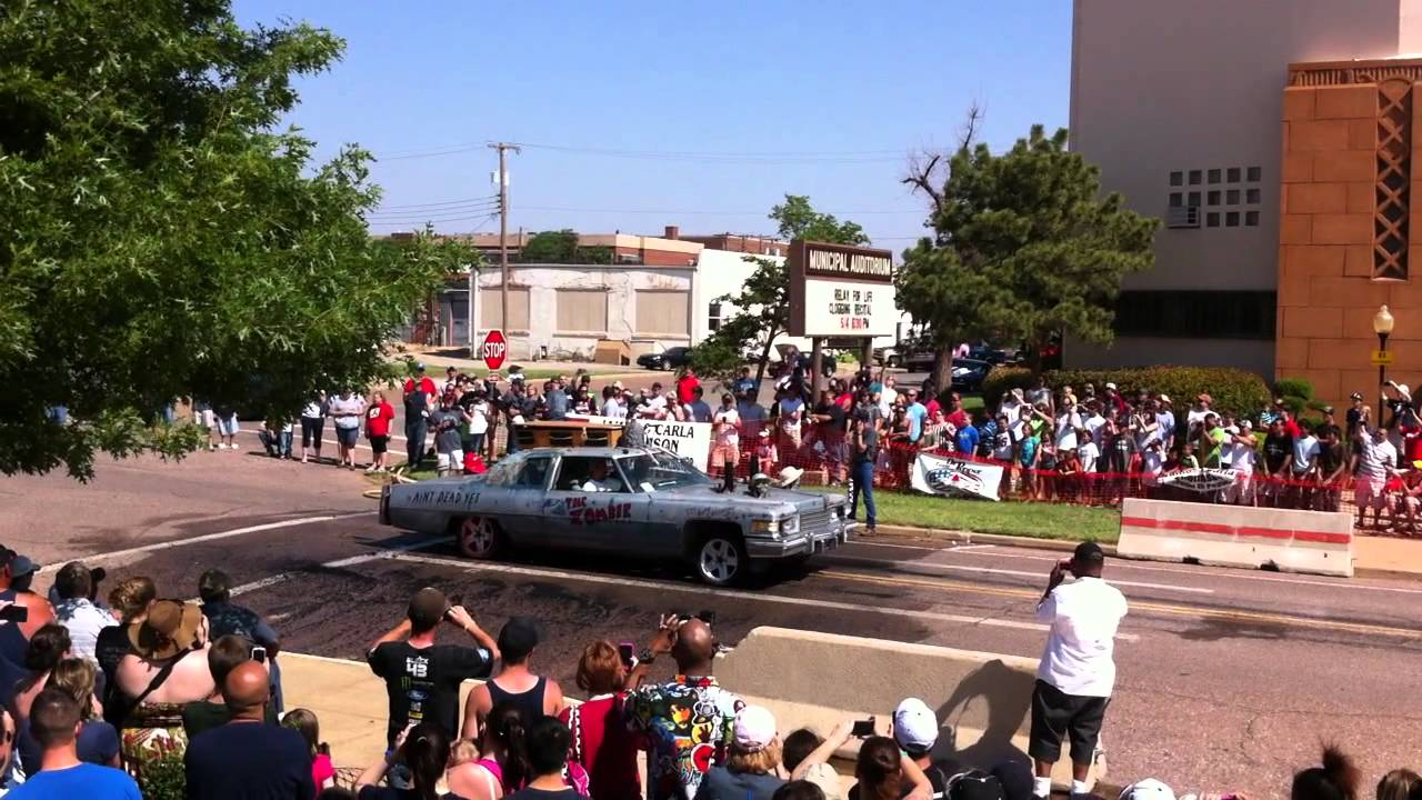 Altus Oklahoma Rock N Rumble Car Show Mov Youtube